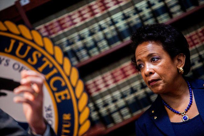 Loretta Lynch, fiscal general de Estados Unidos