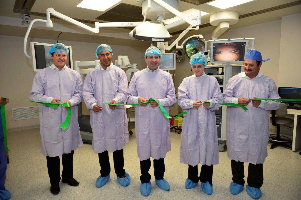 Inauguración del Hospital de Zumpango. Foto de Gobierno de Edomex