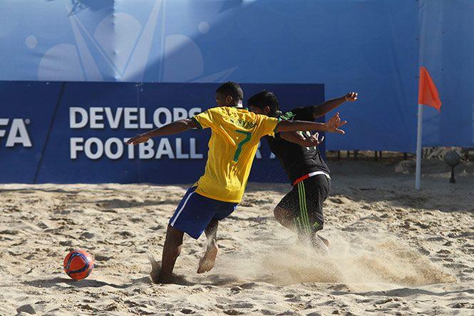 el mundial de futbol de playa: