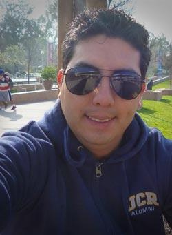 También realizó una estadía en la Universidad de California, en Riverside. Foto de Conacyt
