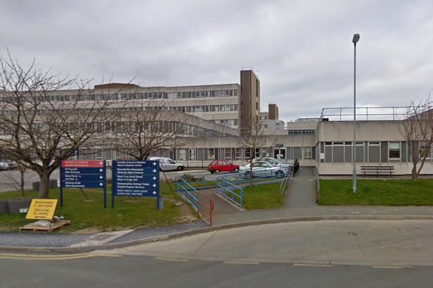 Hospital de Glan Clywd. Foto de Mirror